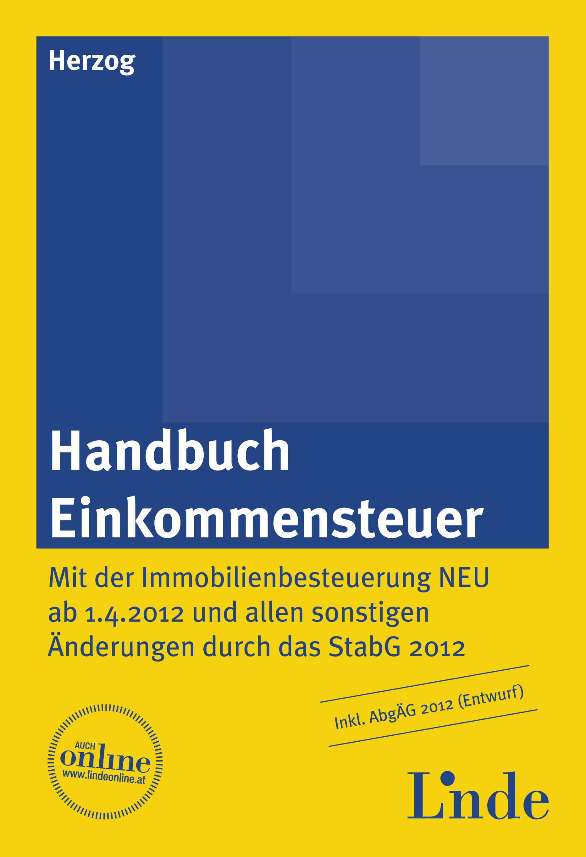 Handbuch Einkommensteuer | Linde Verlag