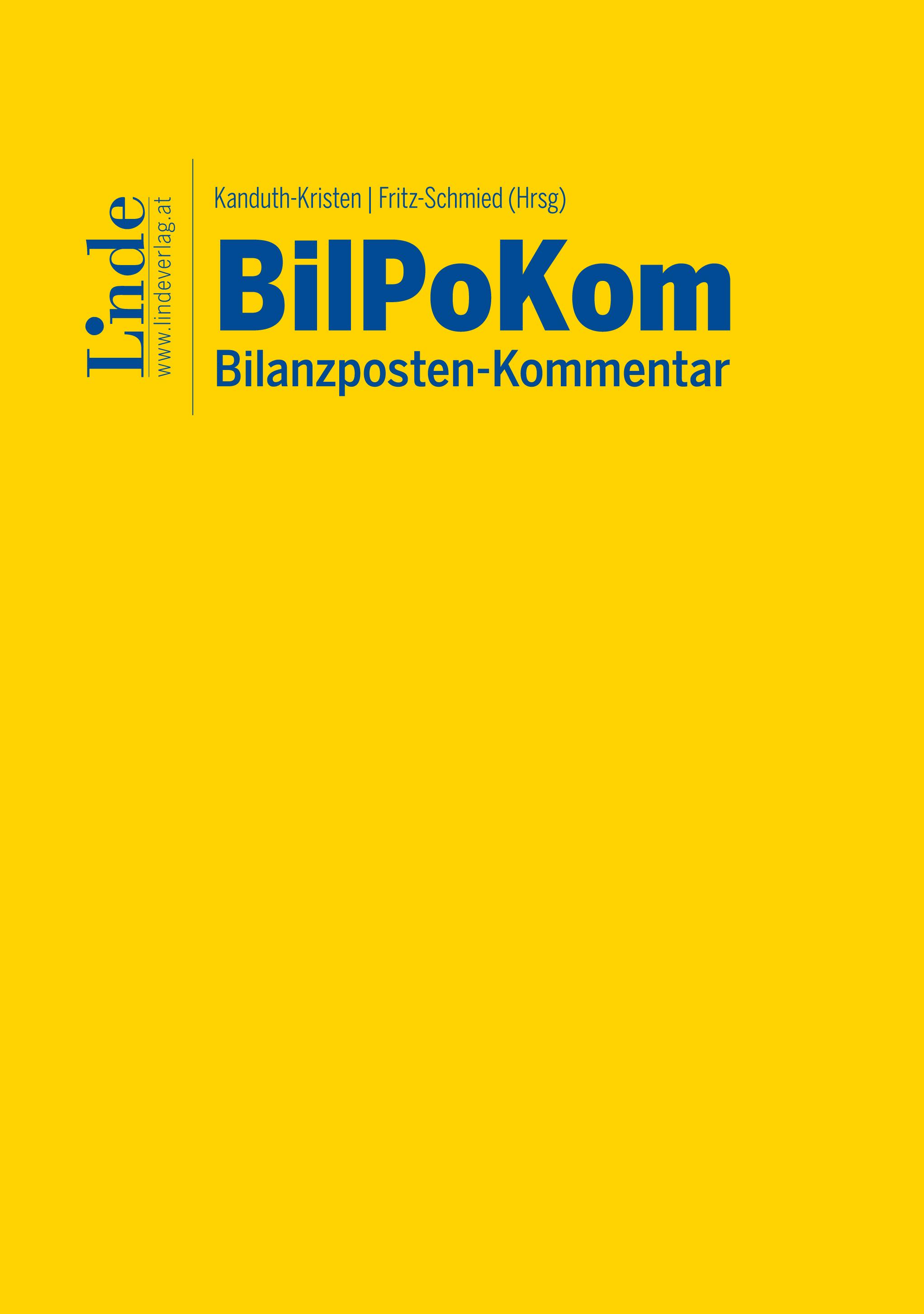 Bilanzposten-Kommentar | Linde Verlag