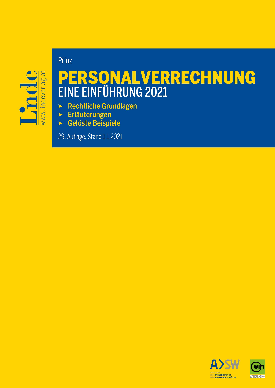 Personalverrechnung: eine Einführung 2021 | Linde Verlag