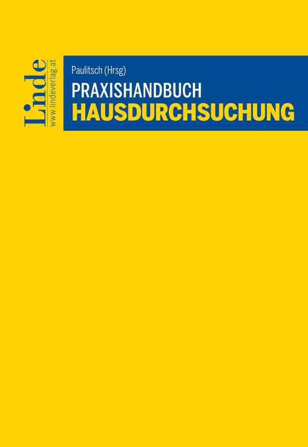 Praxishandbuch Hausdurchsuchung