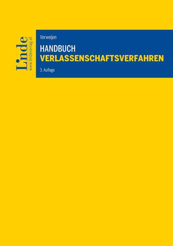 Handbuch Verlassenschaftsverfahren