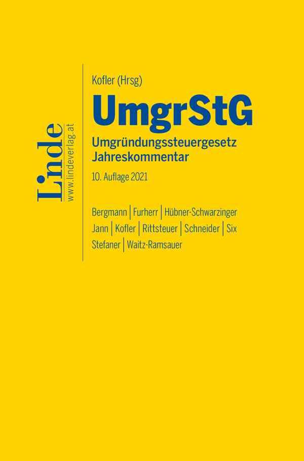 UmgrStG | Umgründungssteuergesetz 2021