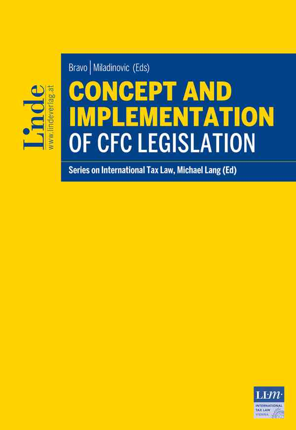 Concept and Implementation of CFC Legislation