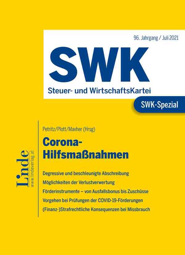 SWK-Spezial Corona-Hilfsmaßnahmen