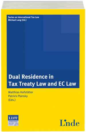 Dual Residence in Tax Treaty Law and EC Law