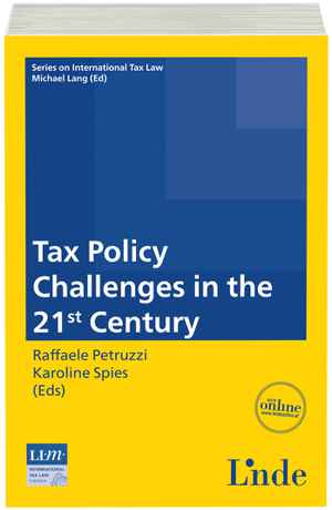 Tax Policy Challenges in the 21st Century