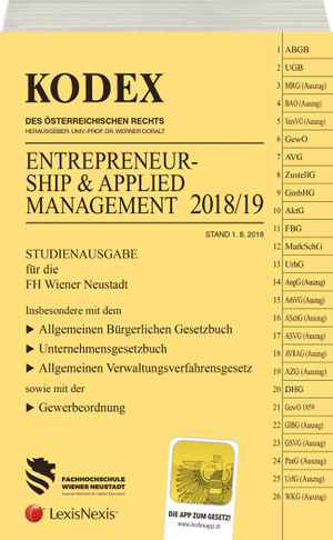 Kodex Entrepreneurship 2018/19
