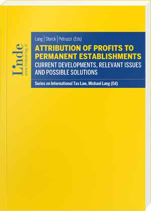 Attribution of Profits to Permanent Establishments