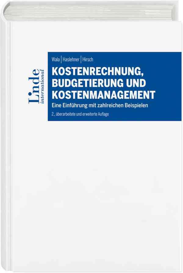 kostenrechnung budgetierung und kostenmanagement - Kostenrechnung Beispiele