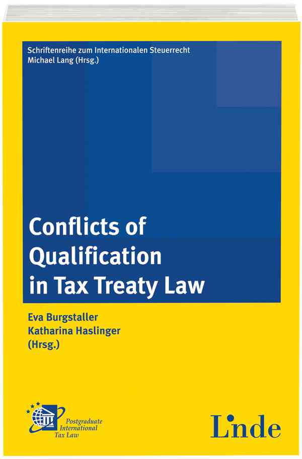 Conflicts of Qualification in Tax Treaty Law