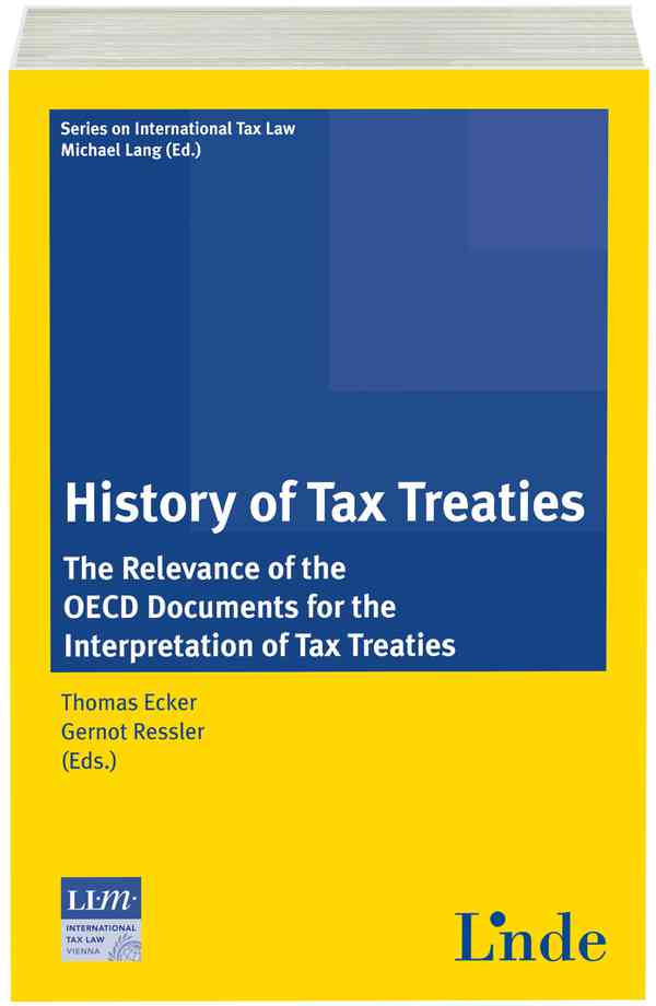 History of Tax Treaties