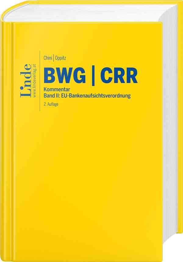BWG Bankwesengesetz | CRR Capital Requirements Regulation