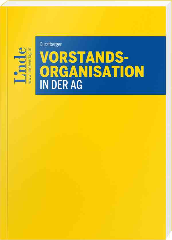 Vorstandsorganisation in der AG