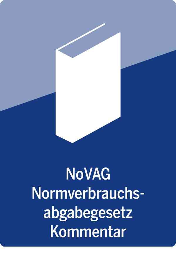 NoVAG | Normverbrauchsabgabegesetz