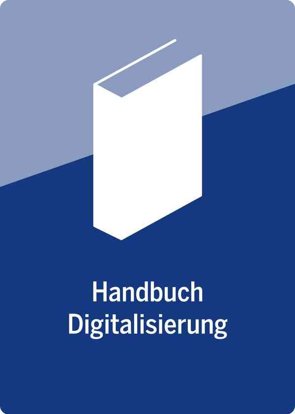 Handbuch Digitalisierung