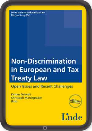 Non-Discrimination in European and Tax Treaty Law