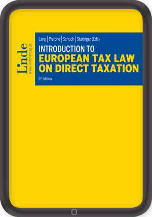 Introduction to European Tax Law on Direct Taxation