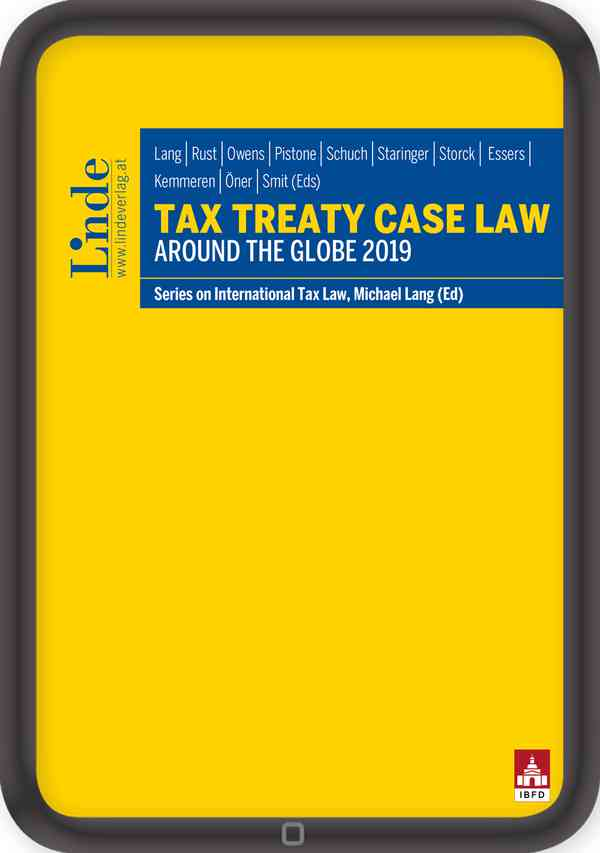 Tax Treaty Case Law around the Globe 2019