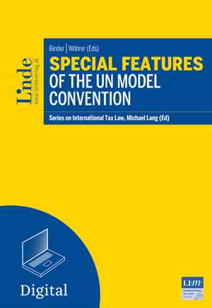 Special Features of the UN Model Convention