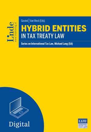 Hybrid Entities in Tax Treaty Law