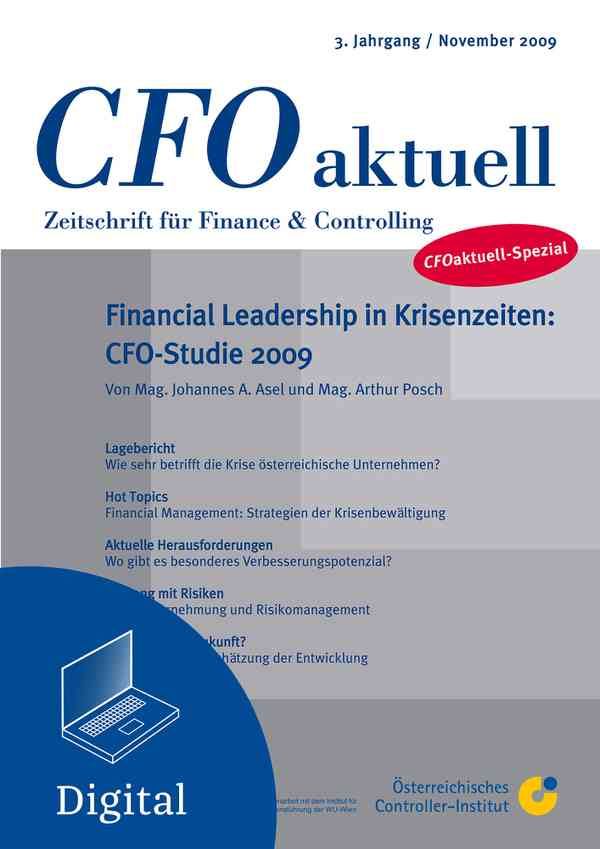 CFO aktuell-Spezial Financial Leadership in Krisenzeiten