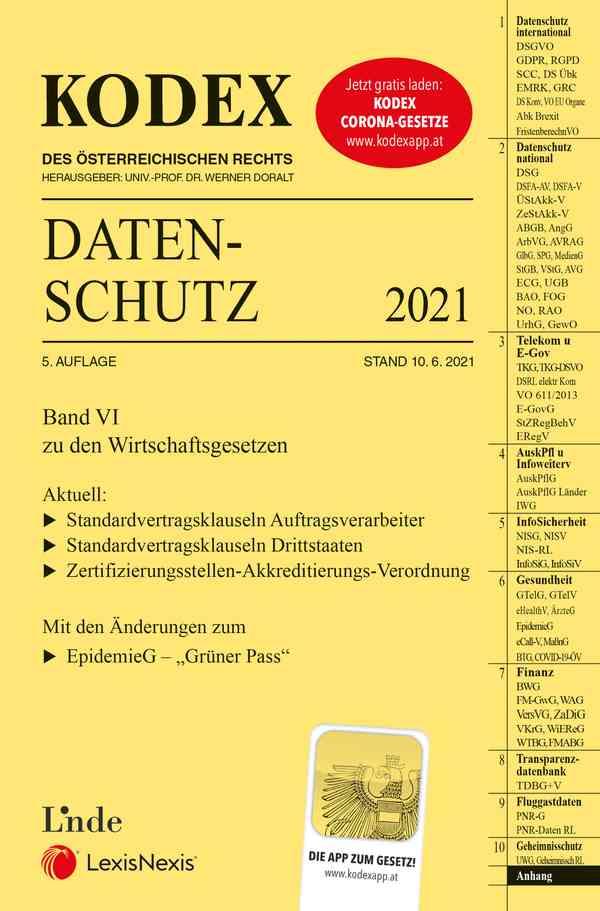 KODEX Datenschutz 2021