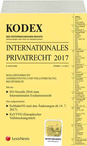 Kodex Internationales Privatrecht 2017