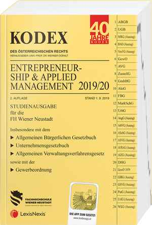 Kodex Entrepreneurship 2019/20 Studienausgabe