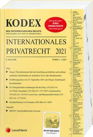 Kodex Internationales Privatrecht 2021