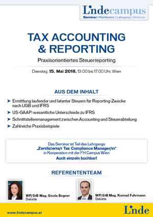 Tax Accounting & Reporting