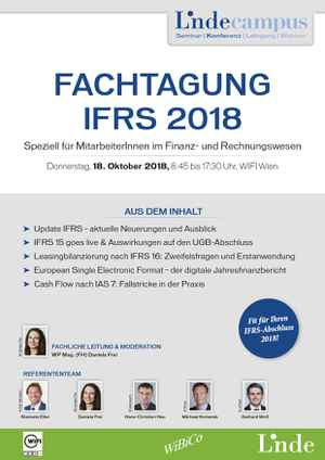Fachtagung IFRS