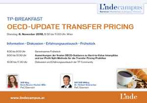 OECD-Update Transfer Pricing