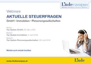 Tax Update Immobilien