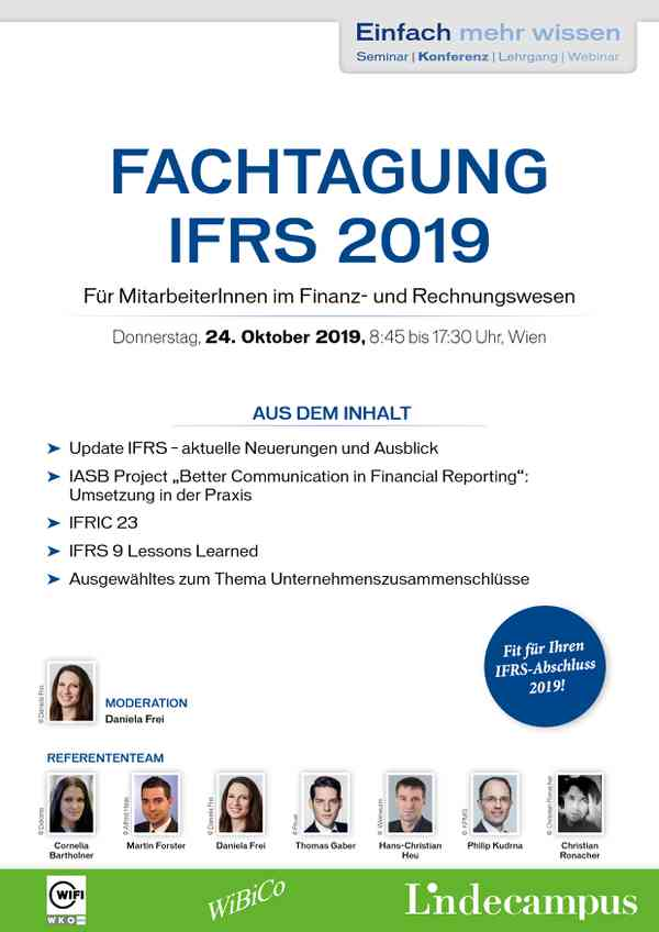 Fachtagung IFRS 2019