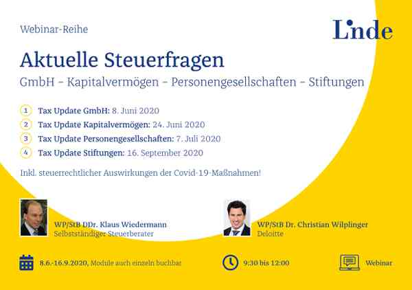 Tax Update Privatstiftung