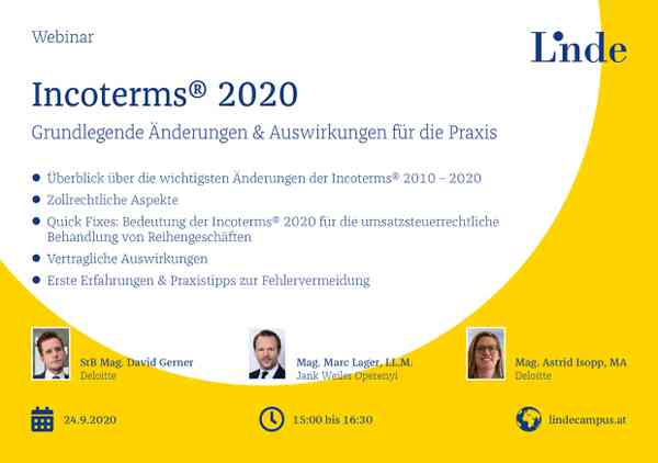 Incoterms® 2020