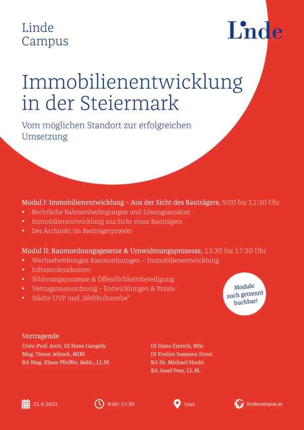 Immobilienentwicklung in der Steiermark