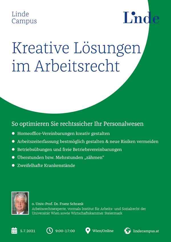 Kreative Lösungen im Arbeitsrecht