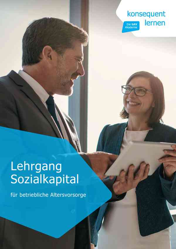 Sozialkapital für betriebliche Altersvorsorge