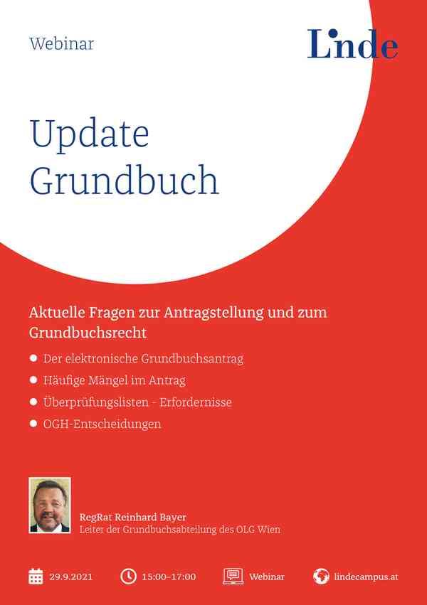 Update Grundbuch