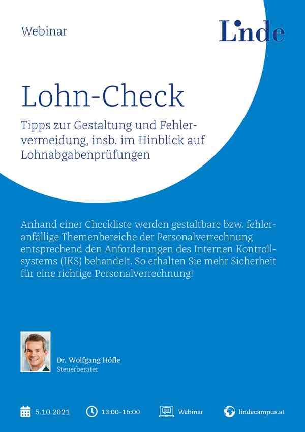Lohn-Check