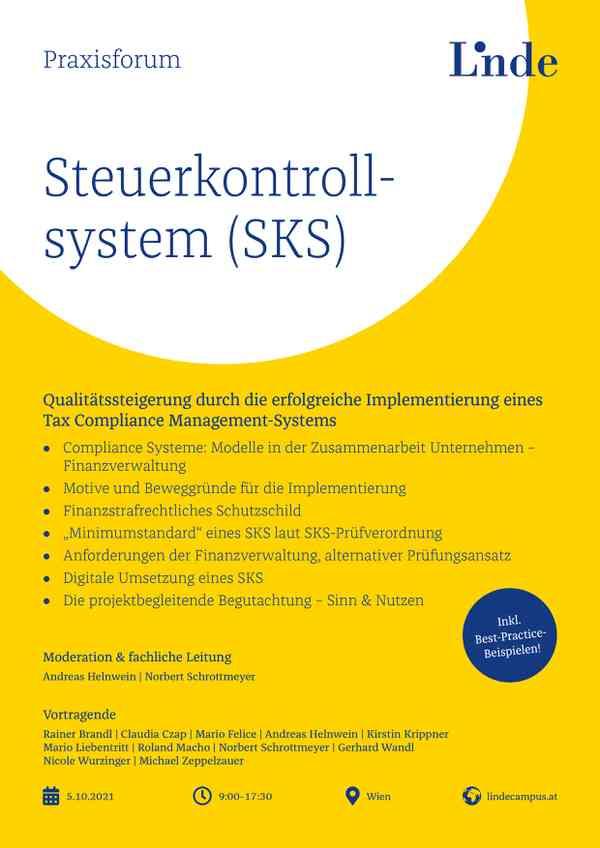 Praxisforum Steuerkontrollsystem (SKS)