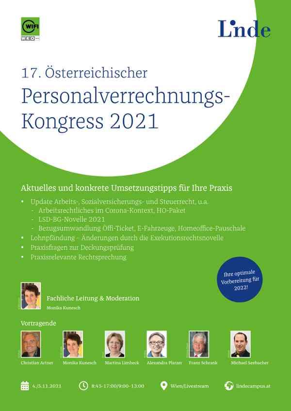 17. Österreichischer Personalverrechnungs-Kongress 2021