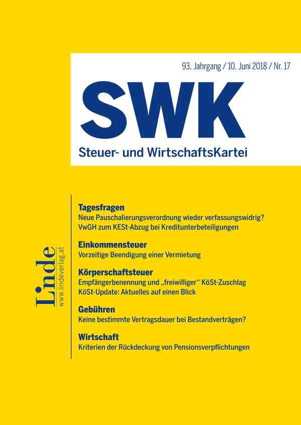 SWK Steuer- und WirtschaftsKartei
