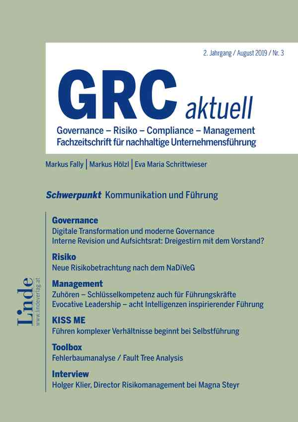 Governance - Risiko - Compliance - Management