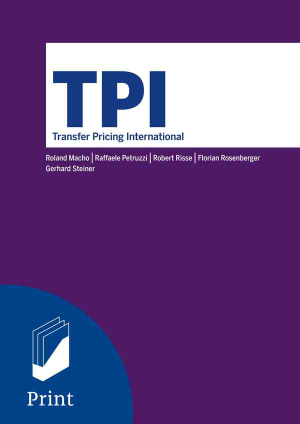 TPI - Transfer Pricing International