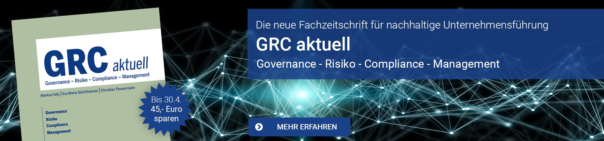 GRC aktuell - Governance - Risiko - Compliance - Management