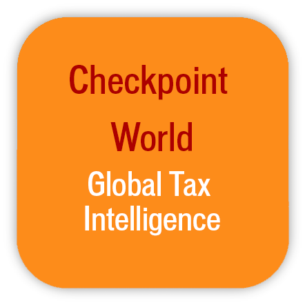 Checkpoint World Global Tax Intelligence
